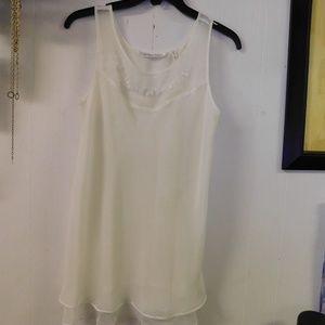 Victorias Secret Sheer Layered Lightweight Gown